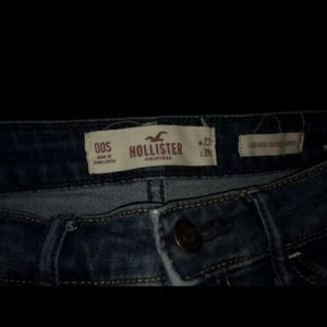 high rise super skinny holister jeans